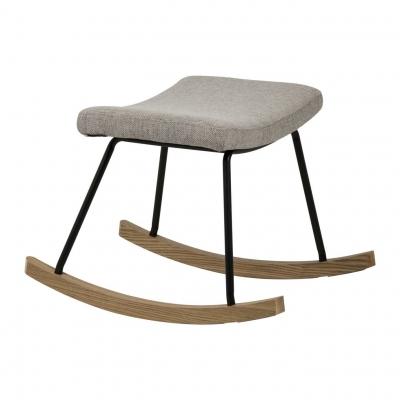 Quax Hocker für Still-Sessel Schaukelstuhl, Sand Grau
