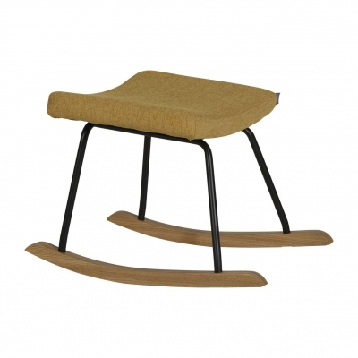 Quax Hocker für Still-Sessel Schaukelstuhl, Saffran