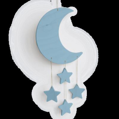 Tresxics Crea Kit DIY Mond, Blau
