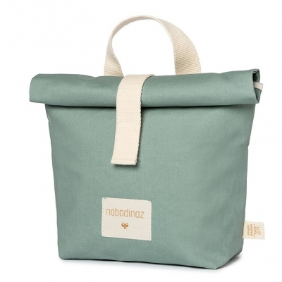Nobodinoz Sunshine Eco Lunch Tasche, Eden Green