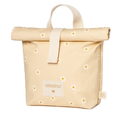 Nobodinoz Sunshine Eco Lunch Tasche, Daisies