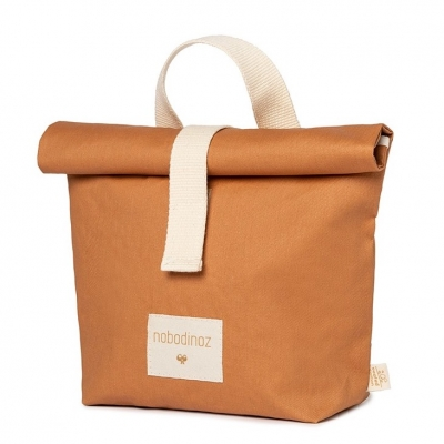 Nobodinoz Sunshine Eco Lunch Tasche, Cinnamon