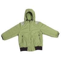 Ducksday wendbare Jacke, Funky Green/ Lime, Grösse 2Y (92-98)