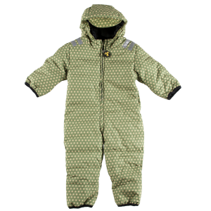 Ducksday Schneeanzug, Funky Green, Grösse 80 (12-18M)