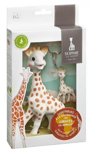Sophie la girafe Sonderedition - Schützt die Giraffen (inkl. Schlüsselanhänger)
