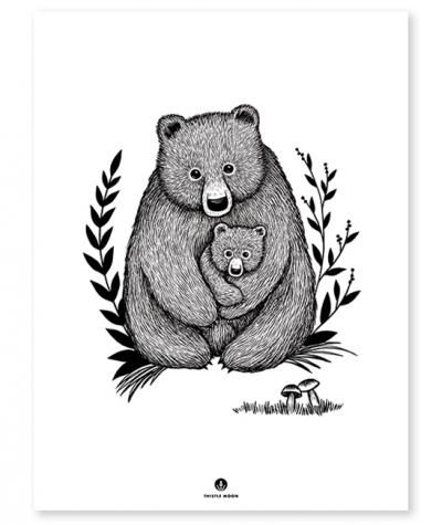 Lilipinso Poster, Familie Bär