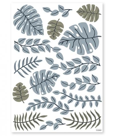 Lilipinso Wandsticker Dekoration, Blätter XL