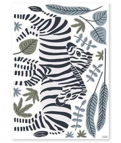 Lilipinso Wandsticker Dekoration, Zebras XL