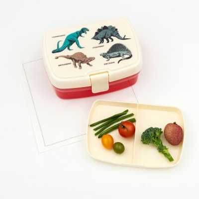 Rex London Lunch Box mit herausnehmbaren Fach, Prehistoric Land