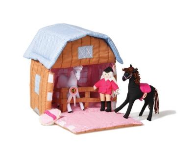 Oskar & Ellen Spielset, Pony-Stall
