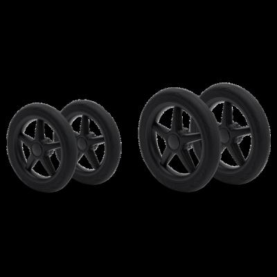 Bugaboo Donkey/ Buffalo Räder-Ersatzteilset (4Räder), schwarz