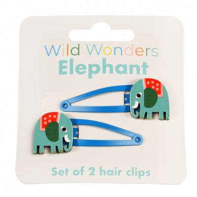 Rex London Haarclips, Wild Wonders Elephant