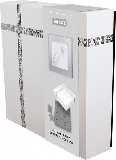 Dooky Hand & Fussabdruckset mit Memory Geschenkbox/ 3D Deluxe