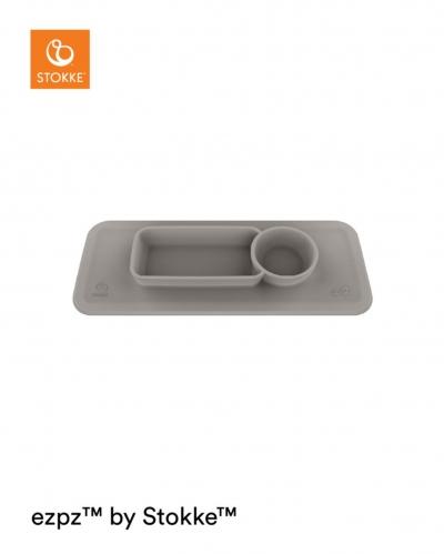STOKKE Tripp Trapp Silikon-Tischset für Clikk Tablett, Grey