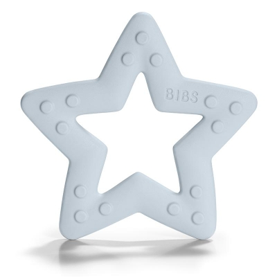 BIBS Beissring Baby Bities Stern, Baby Blue