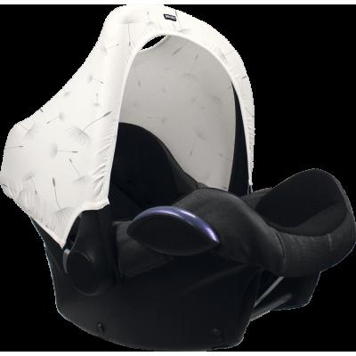 Dooky Hoody mit UV-Schutz, Black Uni
