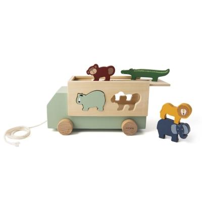 Trixie Baby Holz-LKW mit Tieren