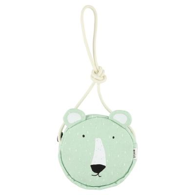 Trixie Runde Handtasche, Mr. Polar Bear