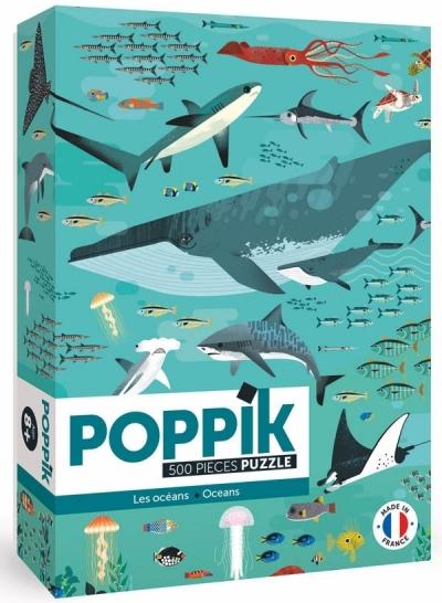 Poppik Puzzle, Ozean (500 Teile)