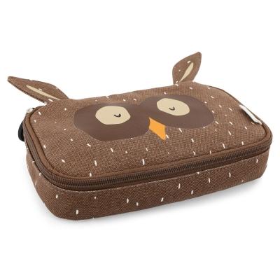 Trixie Baby rechteckiges Federmäppchen, Mr. Owl