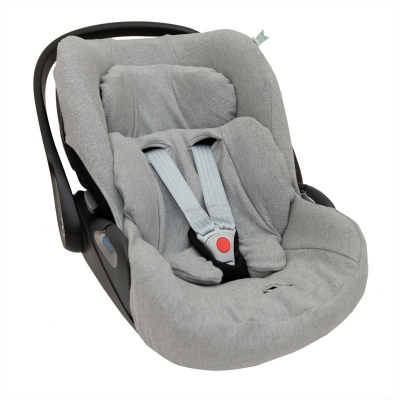 Trixie Babyschalenbezug für Cloud Z i-Size von Cybex, Grain Grey