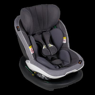 BeSafe iZi Modular A X1 i-Size Reboard Autositz, Metallic Melange