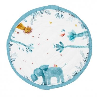 Play&Go Spielzeugtasche & Krabbeldecke 3-in-1, Baobab