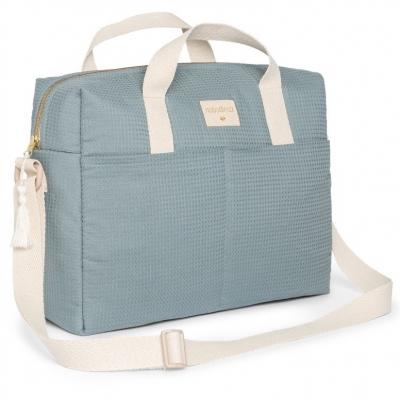 Nobodinoz Kinderwagentasche Gala, Stone Blue
