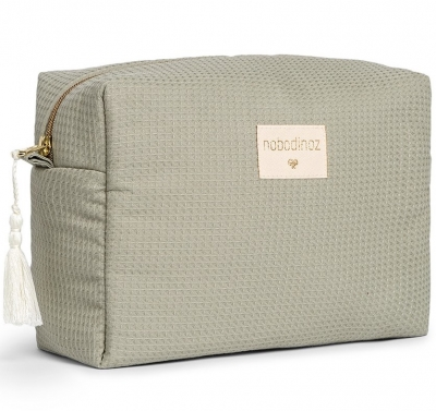 NOBODINOZ wasserdichte Windeltasche Diva - Laurel Green