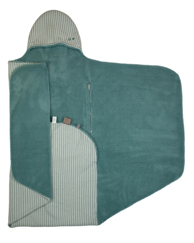 Snoozebaby Wickeldecke Trendy Wrapping, Smokey Green