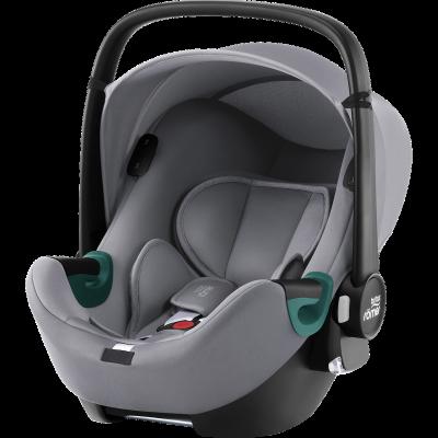 Britax Römer Baby-Safe iSense Babyschale, Frost Grey