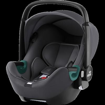 Britax Römer Baby-Safe iSense Babyschale, Midnight Grey
