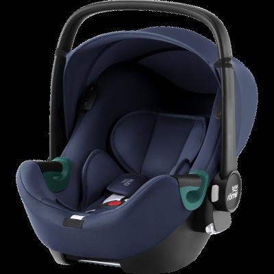 Britax Römer Baby-Safe iSense Babyschale, Indigo Blue