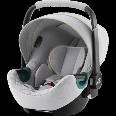Britax Römer Baby-Safe iSense Babyschale, Nordic Grey