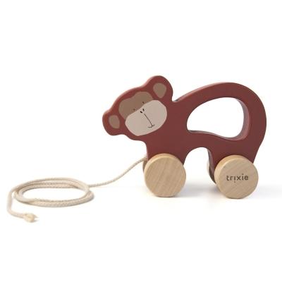 Trixie Baby Holz Nachziehtier, Mr. Monkey