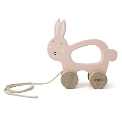 Trixie Baby Holz Nachziehtier, Mrs. Rabbit