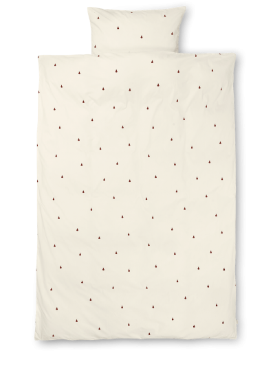 Ferm Living Bettwäsche, Adult (140x200), Birne Off-White