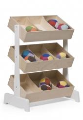 Oeuf NYC Spielzeugregal Toy Storage, Birke