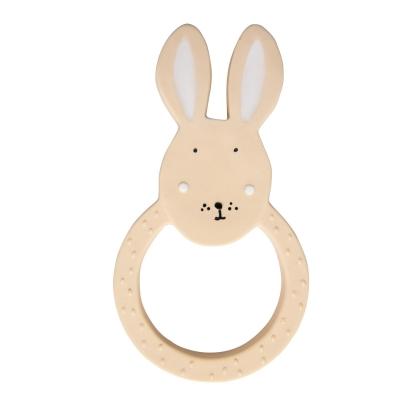 Trixie Baby Beissring aus Naturkautschuk, Mrs. Rabbit