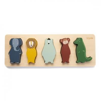 Trixie Holzpuzzle mit Tieren