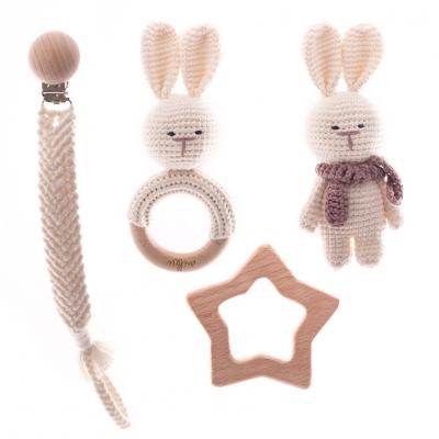 Milkii Geschenkset für Neugeborene, Lupo der Hase
