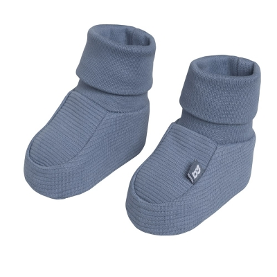 Babys Only Babyschühchen Pure, Vintage Blue 3-6 Mon.