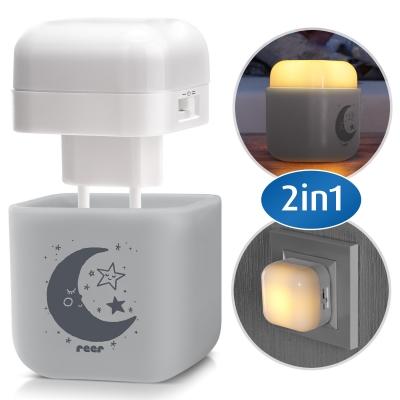 Reer 2in1 Sleep Light, grau