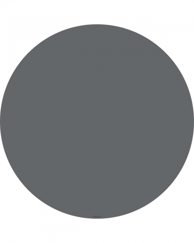 eeveve Bodenmatte Schutzmatte, rund 110cm, Granit Grau