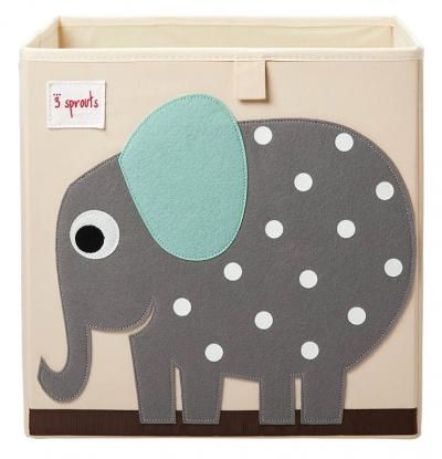 3 Sprouts Aufbewahrungsbox, Elefant