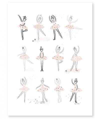 Lilipinso Poster, Ballerinas
