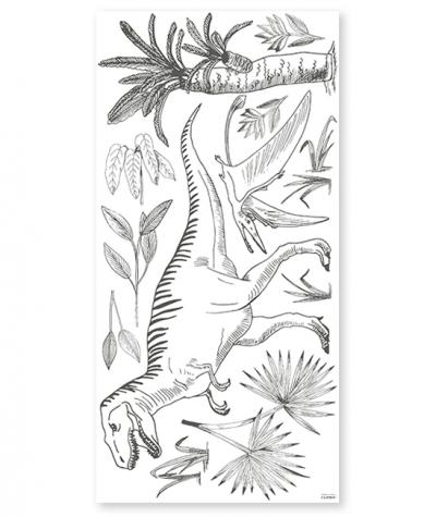 Lilipinso grosses Wandsticker Dekoration, T-Rex