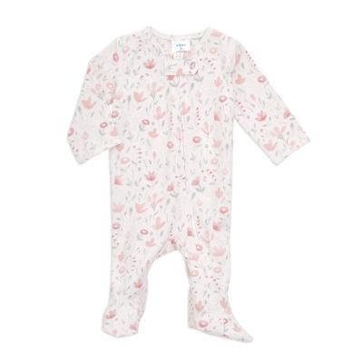 aden + anais Babypyjama mit Füsschen, perennial