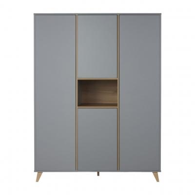 Quax Kleiderschrank LOFT XL, Grau