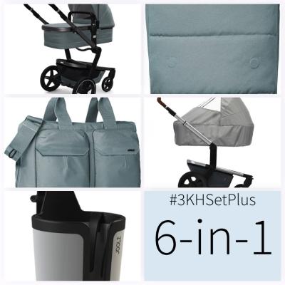 JOOLZ Day+ Kinderwagen #3KHSet 6in1, Modern Blue